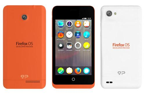 Mozilla reveals Firefox OS Developer Preview handsets' availability