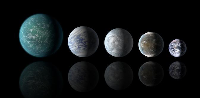 NASA discovers three Kepler system planets in the habitable zone