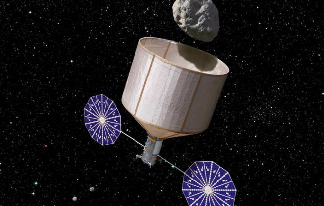 NASA to place an asteroid into orbit around the Moon