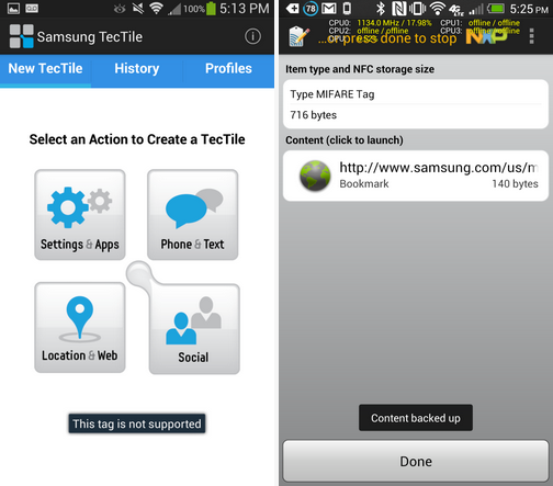 Samsung GALAXY S 4 abandons original Samsung-made NFC tags for second-gen 1