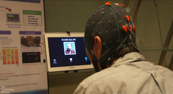 Samsung tests out mind-controlled Samsung Galaxy Note 10.1