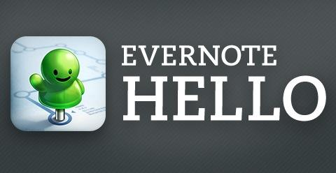 Evernote Hello for iPhone updates with passcode lock, improved contacts