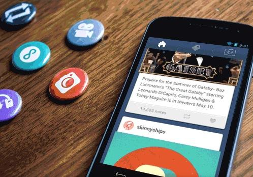 Tumblr gives in to ads in its mobile apps