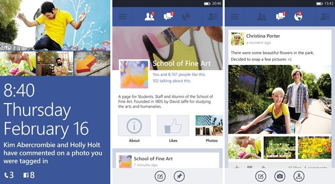 Facebook for Windows Phone enters beta, brings high-res photos and Timeline