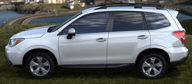2014 Subaru Forester recalled due to curling floor mats