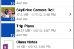 Microsoft updates SkyDrive for iOS app to version 3.0