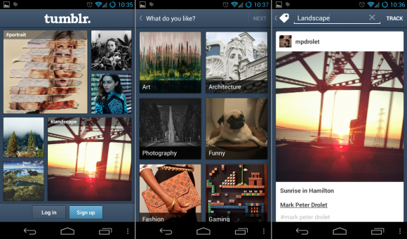 Tumblr app for Android gets revamped 1