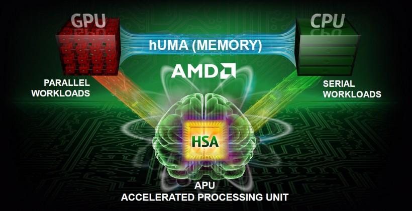 AMD hUMA wants to speed your APU memory use, no joke