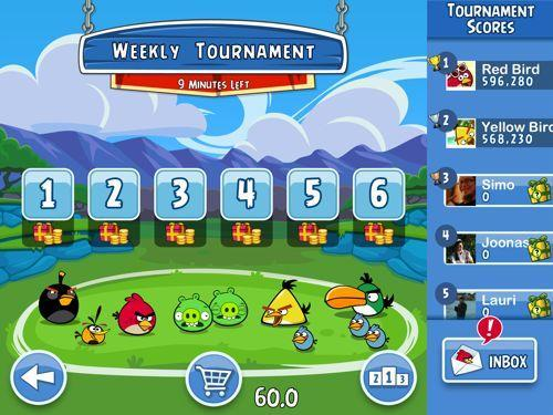 Rovio launching Angry Birds Friends on iOS and Android