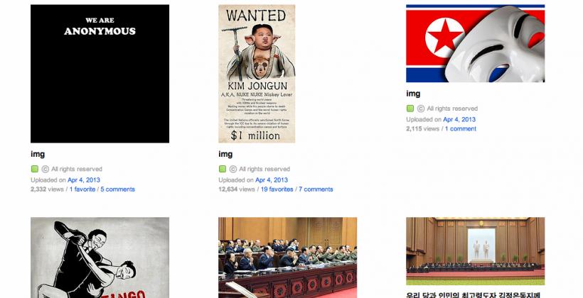 Anonymous hacks North Korea's social media in net freedom bid