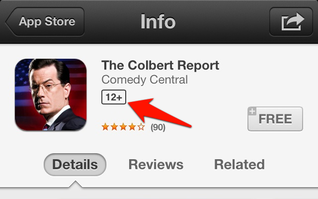 Apple adds age recommendations to App Store