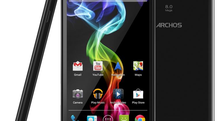 Archos 53 Platinum makes massive smartphones inexpensive