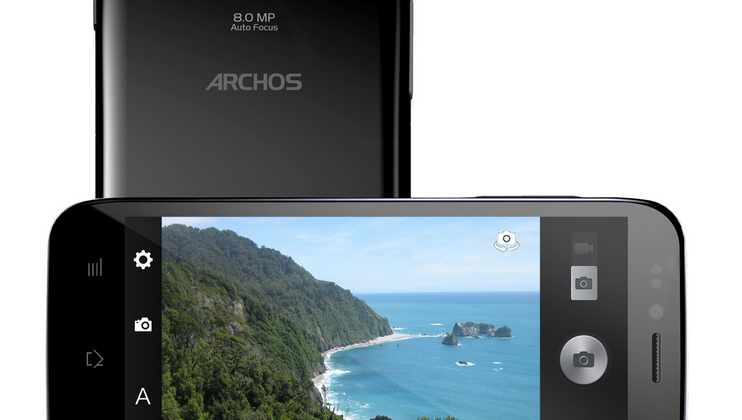 Archos 50 Platinum brings on company's first smartphone hero