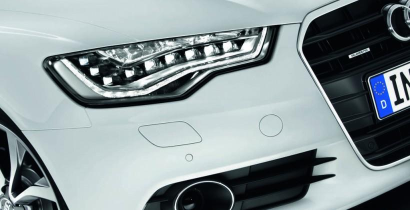 Audi takes lead in LED headlight fuel efficiency drive