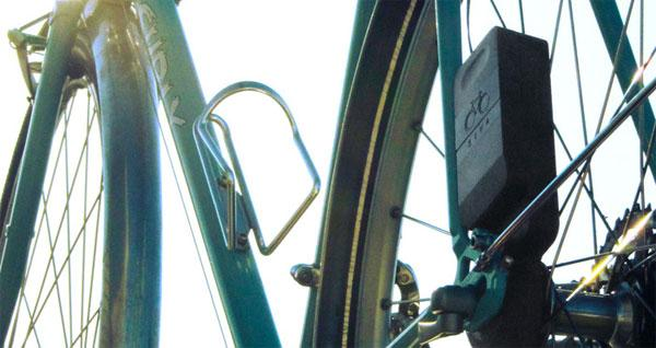 Siva Cycle Atom generates power to keep bicyclists charged up