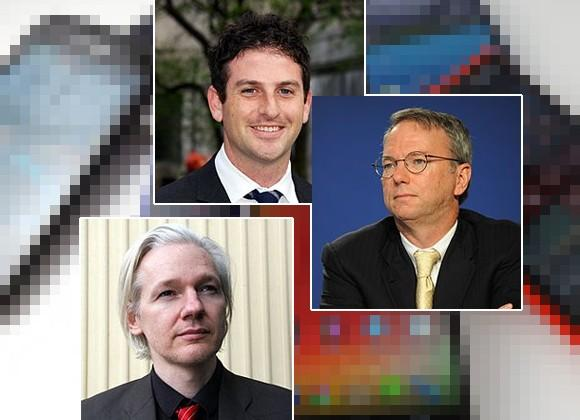 "Eric Schmidt and WikiLeaks founder talk ""radicalization of internet educated youth"""