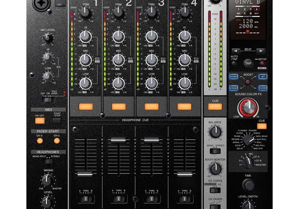 Pioneer DJM-750 4-channel digital DJ mixer expands creativity