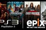 Epix video streaming lands on PS3