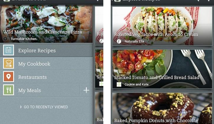 Evernote Food for Android updates with UI tweaks