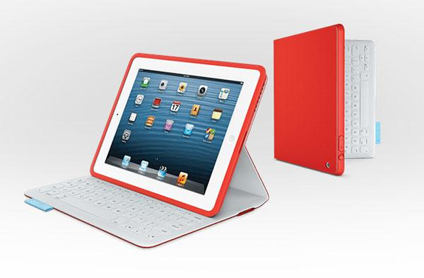 Logitech FabricSkin Keyboard Folio borrows Surface RT style for iPad