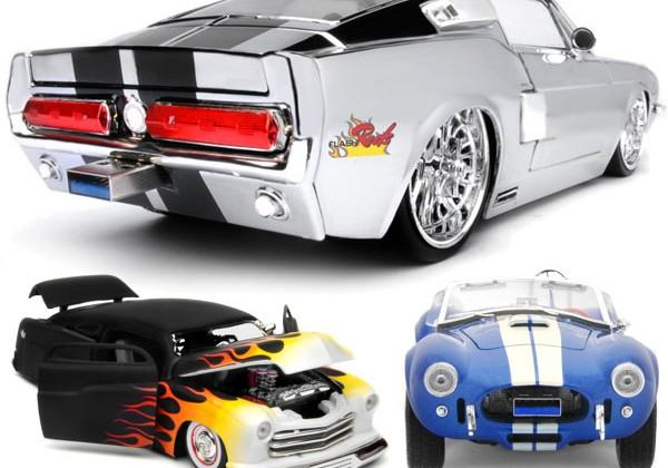 Flash Rods unveils souped-up USB 3.0 muscle car drives