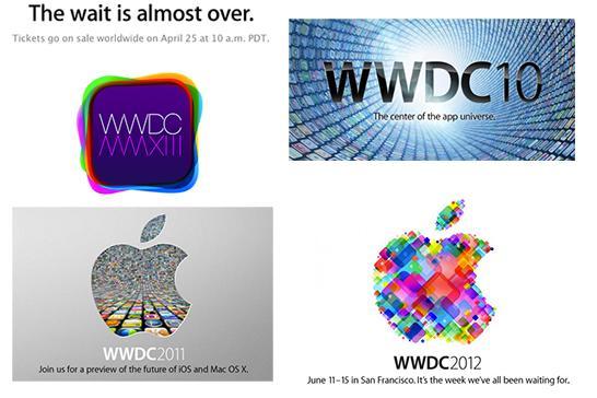 Apple WWDC 2013 logo evolution tips cross-platform conglomeration