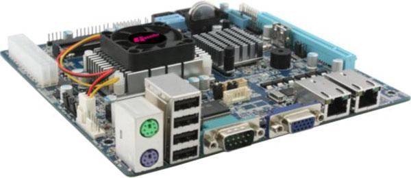 Giada N70E-DR mini-ITX mainboard aims at entry-level NAS servers