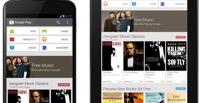 Google Play rolls out new design and simpler check-out