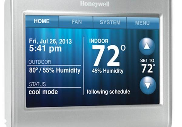 Honeywell shows off new Wi-Fi Programmable Thermostat