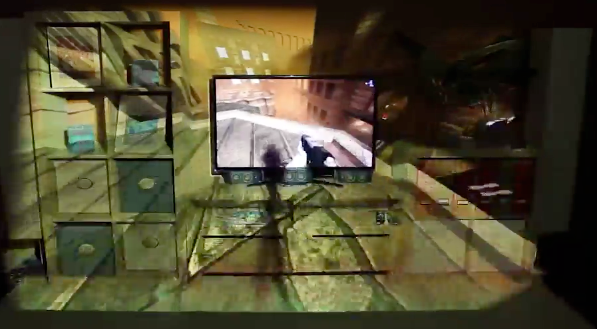 Microsoft IllumiRoom fleshed out: Gaming and movie AR for your living room