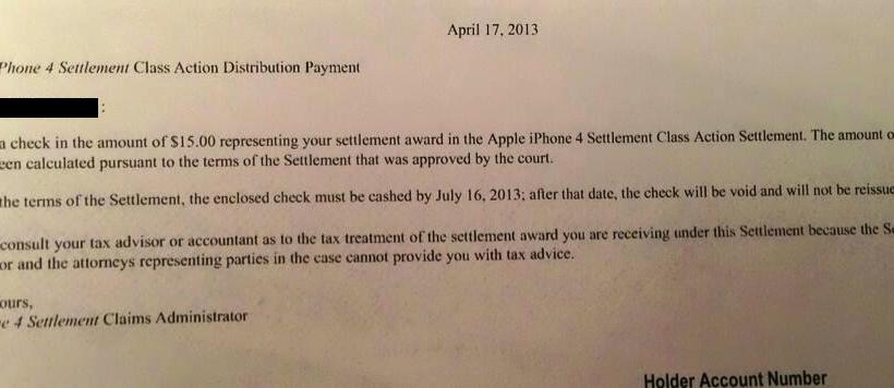 "Apple's iPhone 4S ""antennagate"" checks begin landing"