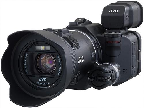 JVC Procision GC-PX100 slo-mo pro camcorder now shipping