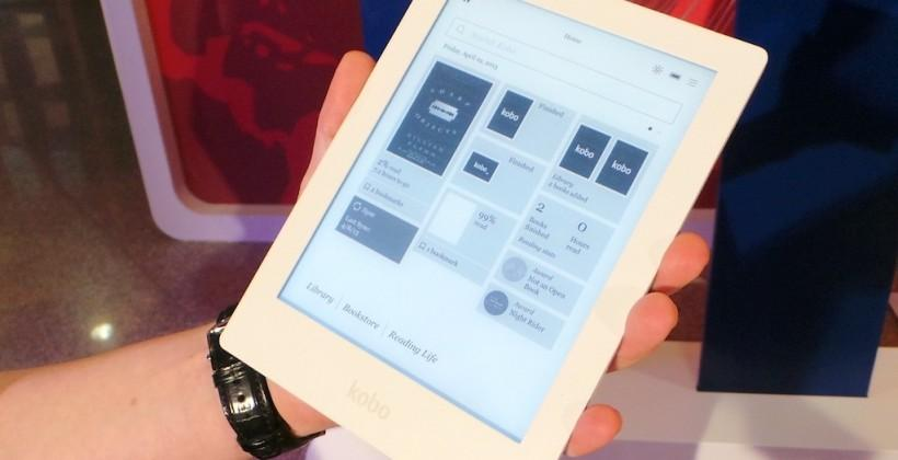 Kobo Aura HD ereader hands-on - SlashGear