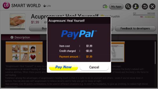 LG Smart TVs add PayPal integration for easier home shopping