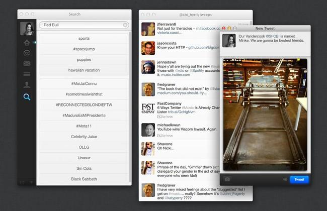Twitter for Mac update brings Retina support, improved sharing and uploading