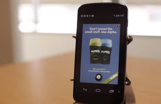 Nuance Voice Ads turn your phone into a chatty salesman