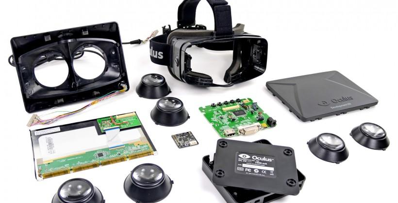Oculus Rift dev kit teardown earns tinkering praise