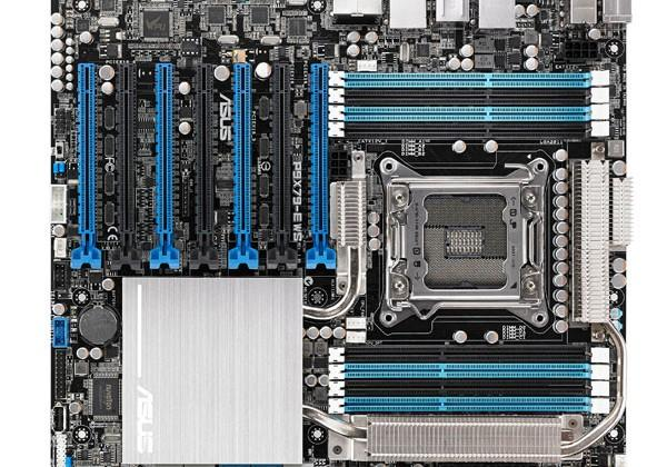 Asus rolls out new P9X79-E WS mainboard with support for four-way graphics