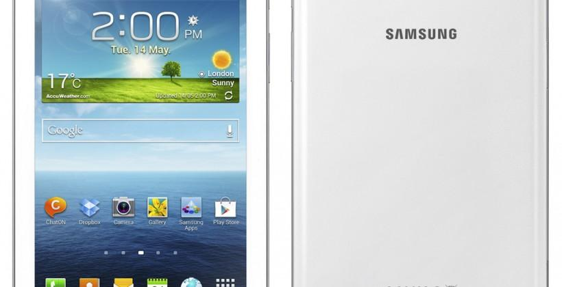 Galaxy Tab 3 revamps Samsung's 7-inch Android tablet range