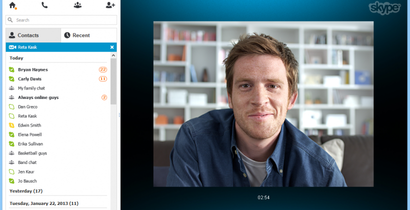 Skype for Windows adds video messaging (but Windows 8 has issues)