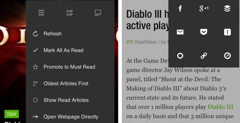Feedly updates mobile app, reports 3 million Google Reader refugees
