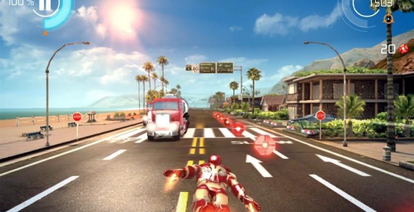 Iron Man 3 mobile game capitalizes on pre-movie hype
