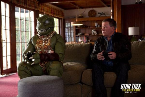 William Shatner fights alien Gorn in new Star Trek video game commercial
