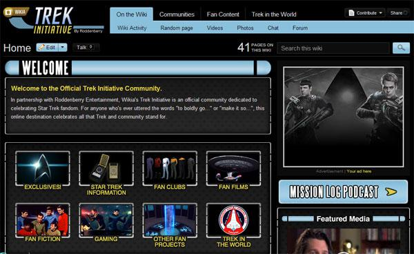 Trekkies get their own Roddenberry approved home on the web