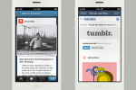 Tumblr for iOS update brings Facebook, Twitter integration