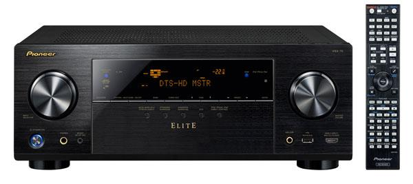 Pioneer unveils new VSX-43 and VSX-70 Elite Receivers