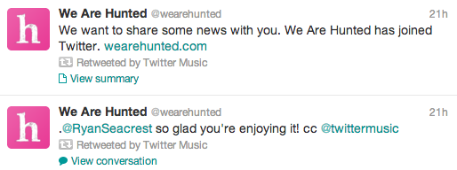 "Twitter Music goes from ""Invite Only"" to ""Coming Soon"""