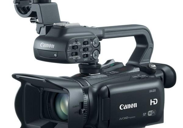 Canon unveils XA25 and XA20 professional camcorders
