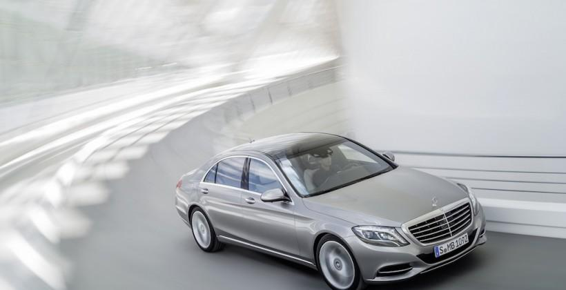 2014 Mercedes S-Class revealed (and it's a tech-monster)