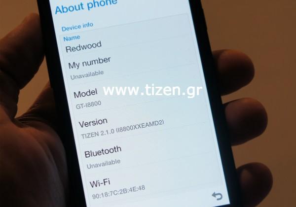 Samsung GT-18800 Tizen smartphone images leaked